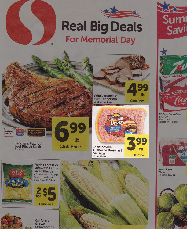 Safeway advertisement